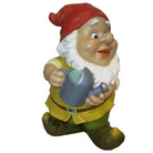 Gnome With Watering Can Ornament