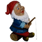 Gnome Gone Fishing Ornament