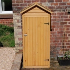 Wooden Apex Small Shed