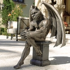 Henri Studio - Socrates The Gargoyle Thinker Garden Sculpture