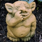 Henri Studio - Picc-a-Dilly Gargoyle Nose Garden Ornament - Medium