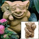Henri Studio - Picc-a-Dilly Gargoyle Bum Garden Ornament - Medium