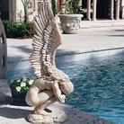 Henri Studio - Rememberance And Redemption Angel Garden Sculpture