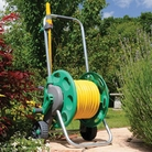 Hozelock 60m Hose Cart With 50m Hose And Fittings
