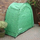 Tidy Tent - Camouflage Leaf Design