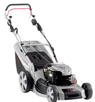Al-Ko 530BRV Alu Premium 4-in-1 Petrol Rotary Lawn Mower (Variable-Speed Drive)