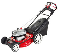 Efco LR55-VBX 4-in-1 Hi-Wheel Petrol Lawn Mower with Variable Speed Drive (Special Offer)