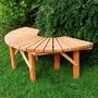 FSC Semicircle Tree Bench