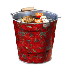 Portable Bucket BBQ