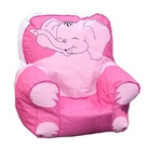 Childrens Pink Elephant Bean Bag