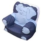Childrens Blue Elephant Bean Bag