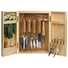 Gardeners Cabinet Tool Set - 11 Pieces
