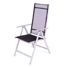 Boston Aluminium Reclining Chair