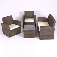 Valencia Rattan Sofa Set with Cushion