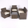Valencia Rattan Sofa Set with Cushion