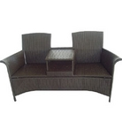 Greenfingers Poly-Rattan Love Seat