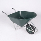 Greenfingers 114L Galvanized Frame Plastic Wheelbarrow