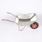 Greenfingers 62.5L Galvanized Garden Wheelbarrow
