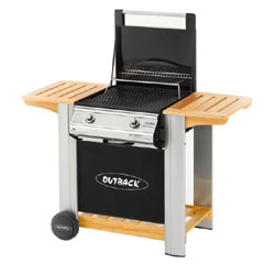 Outback Gas  Barbeque - Spectrum Flatbed