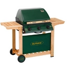 Outback Gas 3 Burner Hooded  BBQ - Hunter