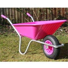 County Clipper Wheelbarrow Pink - 90 Litre