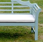 Lutyens bench cushion