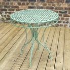 Greenfingers Malvern Green Arch Table