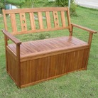 Greenfingers Cubero Garden Storage Bench