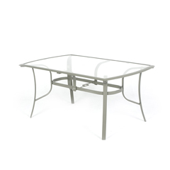 Antigua 150cm Rectangle Table - Cappuccino