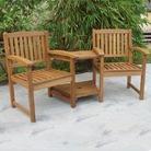 Greenfingers Hardwood Kent Companion Seat