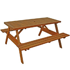 Greenfingers Valletta Picnic Table