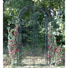 Worcester Garden Arch With Tall Gates