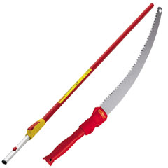 Wolf Pruning Saw and Telescopic Handle Set