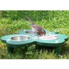 FSC Clover Design Ground Bird Feeder