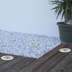 Recessed  Solar Light - Set of 3