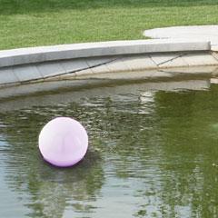 Floating Globe Solar Light