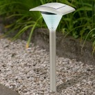 Curved Garden Solar Light