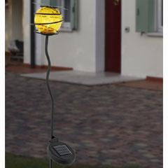Butterfly Globe Solar Light