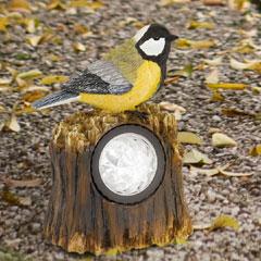 Bird Tit Solar Light