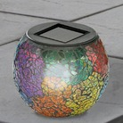 Stained Glass Effect Solar Light