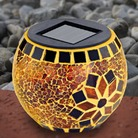 Mosaic Solar Light Globe