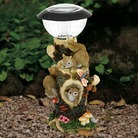 Solar Light With Squirrels