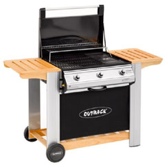 Outback Spectrum 3 Burner Flatbed Barbeque