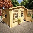 BillyOh 13'x14' Log Cabin Workshop