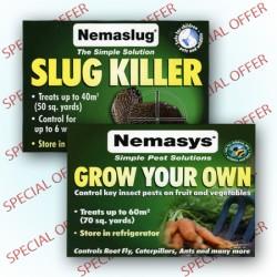 Nemaslug & Nemasys Grow Your Own Combo Pack