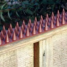 Fence Spikes (10 Piece Pack - Brown)