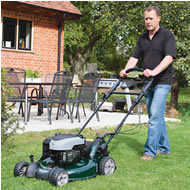 Hayter R53S Power-Driven Recycling Lawn Mower VS ES (Sens-A-Speed Transmission) (Code: 448)