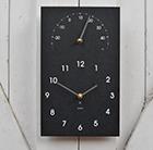 Classic clock thermometer