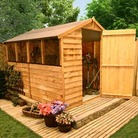 9'x6' BillyOh 30M Classic Overlap Garden Shed