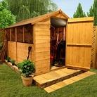 BillyOh 300M 10'x6' TandG Wooden Garden Shed